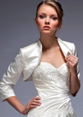 Модели болеро на платье