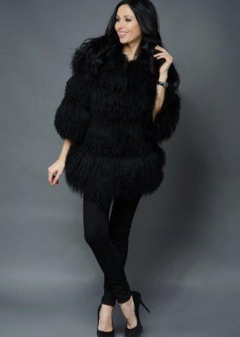 Женские пальто из ламы (60 фото): отзывы, с карманами, с воротником, итальянские