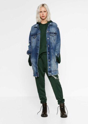Женское джинсовое пальто 2018 (59 фото): с чем и как носить