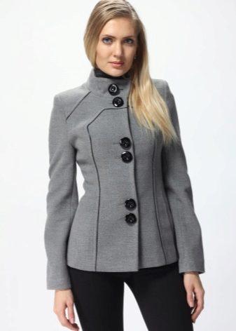 1fafa1ee72d Короткое женское пальто и его фото с чем носить модные модели с ...