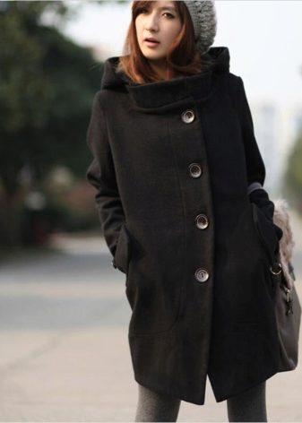 f7d8b29c681 Женское пальто с капюшоном 2019 (77 фото)  с большим