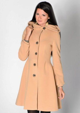 Женское пальто с капюшоном 2018 (77 фото): с большим, длинное, на молнии, укороченное, из норки, спортивное