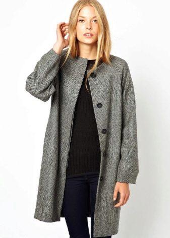 Женское пальто из твида (56 фото): с чем носить, модное, английское, теплое, короткое, на подкладке, отзывы