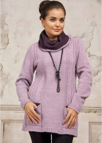 5390d709a39 Наиболее популярными материалами для создания зимних туники являются  мериносовая шерсть