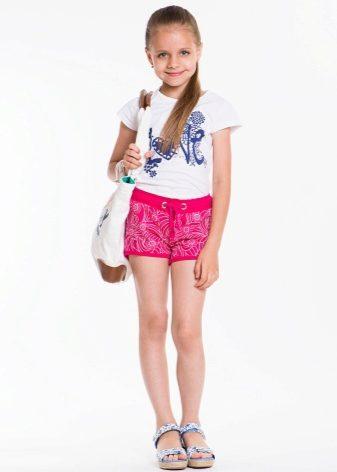 Шорты, фото детей и взрослых в шортах. Красивые девушки в