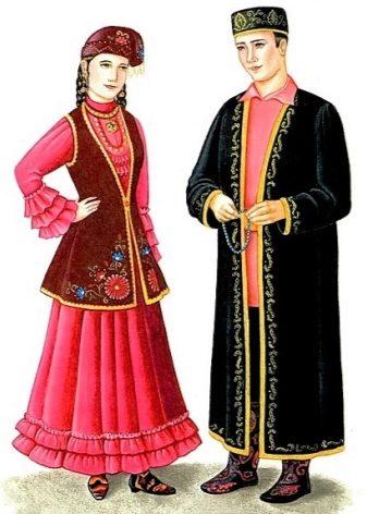 Как будет по татарский юбка