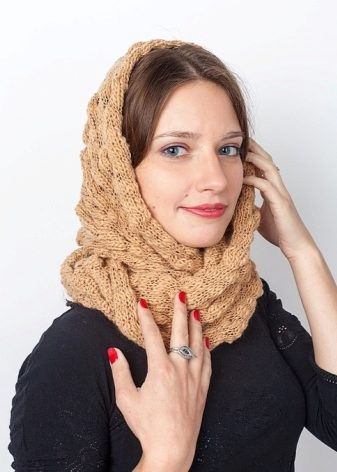 Шарф на голову (78 фото): как красиво повязать и носить шарф на голове зимой и осенью, как носить шарф-трубу на голове
