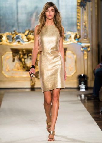 0e94ebb2bf4 Золотые платья предназначены для торжественных мероприятий