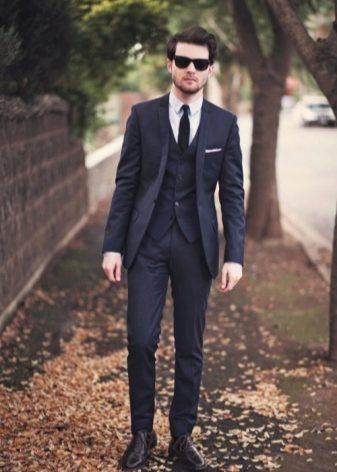 Manner Dreiteiliger Anzug