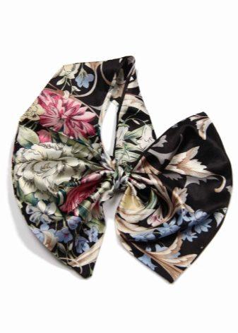 Черный шарф: чем носить черный шарф с цветами, золотом, морской, тонкий или крупной вязки