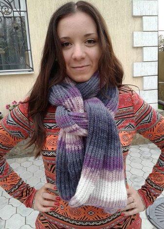Шарф из мохера (57 фото): мохеровый ажурный шарф из шотланского, кид и тонкого мохера, узор, индийский и паутинка