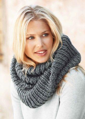 Женский шарф-снуд (51 фото): какой длины должен быть шарф-хомут, шарф Присцилла круговой Эйвон и отзывы