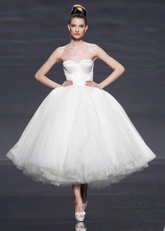 Свадебные босоножки (46 фото): белые босоножки на свадьбу или туфли, на высоком каблуке или платформе