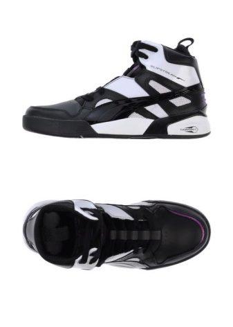 Может также встречаться комбинированный вариант из обоих видов материалов. Высокие  кроссовки отлично сочетаются с широкими джинсами и спортивными брюками. d90b21595e8c3