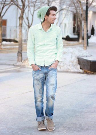 Ботинки дезерты: мужские модели desert boots, зимние