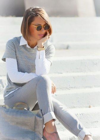 Полуботинки женские без каблука с чем носить фото