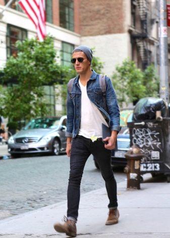 Стильные мужские ботинки (38 фото): самые модные, плюсы модели из пвх