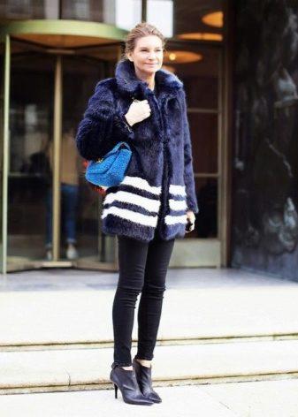 Женские лакированные ботинки (67 фото): лаковые, зимние модели, синие и розовые
