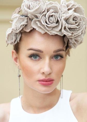 украшения для волос ободок блог о рукоделии и моде