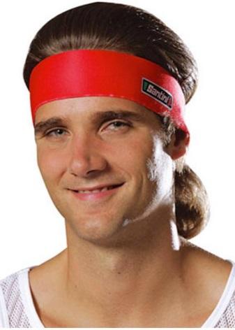 Мужской ободок для волос: модели для мужчин, ободок-пружинка для прически, спортивный sohosport