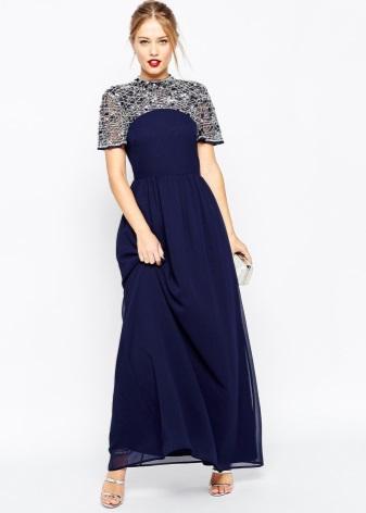 Вечерние нарядные платья 2018 (71 фото)