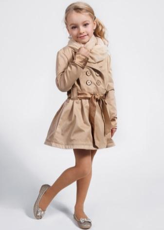 Модная детская плащи