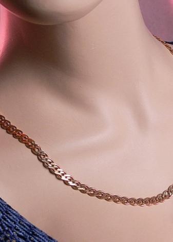 9f9ce6e5f39f В особых случаях можно встретить цепочку со звеньями из разных материалов.  Встречаются варианты из трёх видов золота  белого, ...