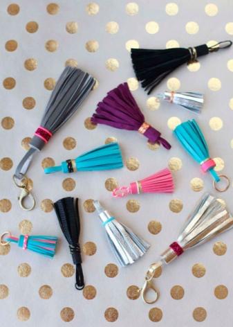 Брелок на сумку: женские украшения на рюкзак или портфель, аксессуары Afinka DIY в виде игрушки мишки для девочек