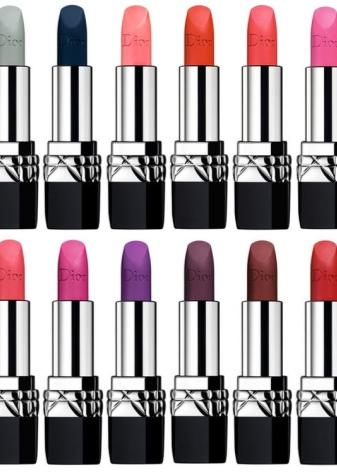 Губная помада Dior: матовая и лаковая, Addict Extreme и Rouge, палитра оттенков и номера, отзывы