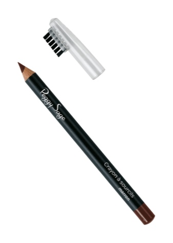 Серый карандаш для бровей цвет волос