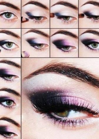 Как при помощи макияжа уменьшить глаза