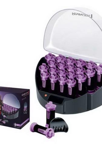 Бигуди Remington: электробигуди, электрические термобигуди