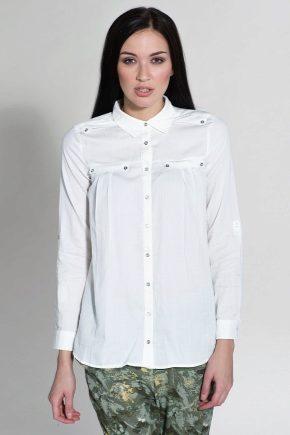 С чем носить длинную рубашку?