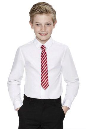 Школьные рубашки для мальчиков