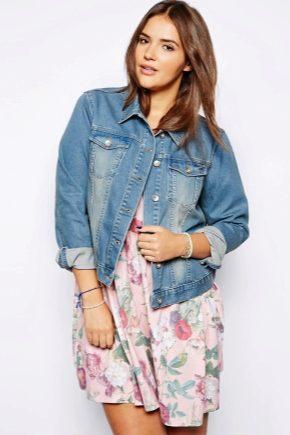Длинные джинсовые женские куртки