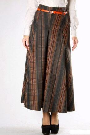 длинные тёплые юбки 44 фото макси в пол на зиму на осень