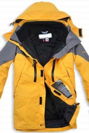 Куртка для занятий альпинизмом
