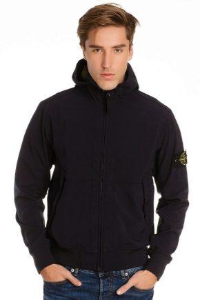 Куртка Stone Island - знаковая одежда для брутальных мужчин