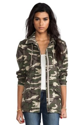 Мужские и женские куртки в стиле «Милитари»