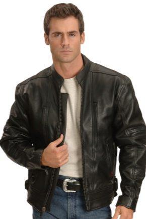 5cfd10b72bd Кожаные куртки мужские 2019 (101 фото)  фирменные