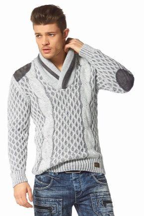 Мужской пуловер 2016