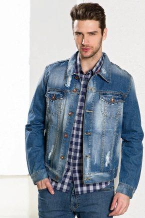 купить мужскую джинсовую куртку в москве 3