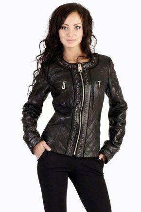 С чем носить кожаную куртку – модные образы