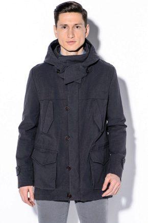 Стильная мужская куртка с капюшоном