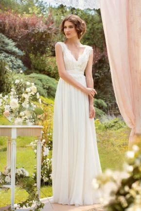 Свадебное платье в стиле «Рустик»