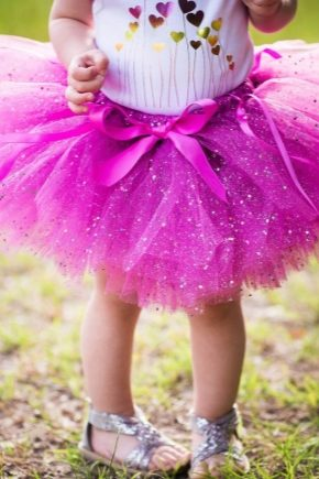 Яркая юбка пачка для девочки