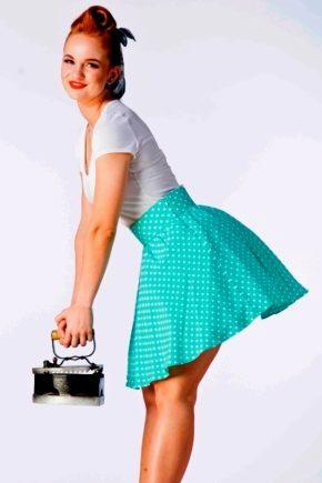 Юбки в стиле стиляги - пышно и ярко!