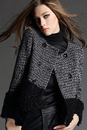 Женские твидовые куртки и их особенности