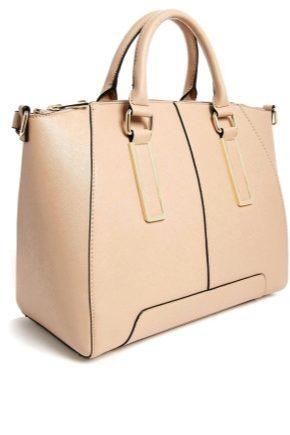 0fcff1db4 Бежевая сумка (62 фото): с чем носить, женская лаковая, натуральная ...