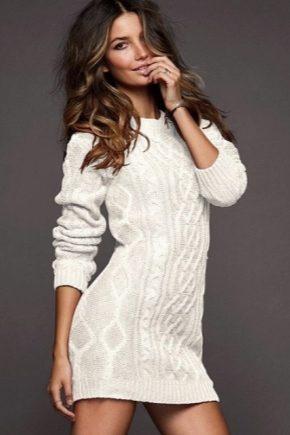 Длинный свитер – модный хит этой зимы